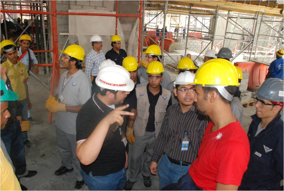 Tour to Shamiah Project