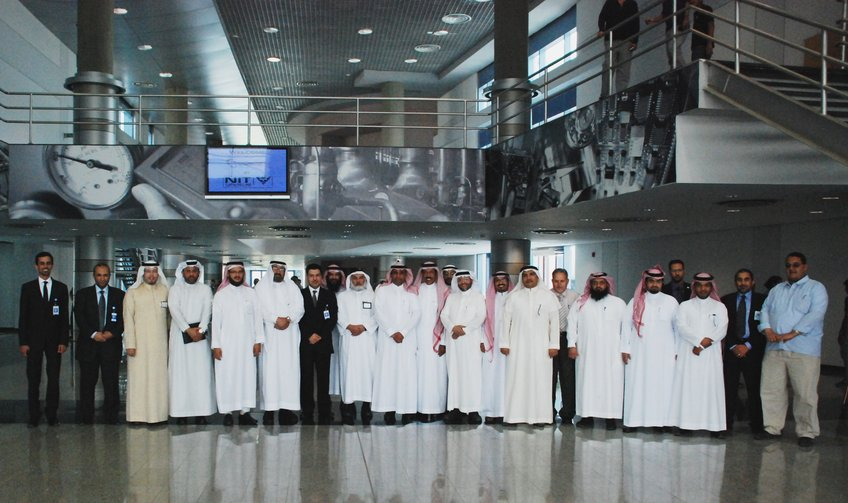 Visit from Saudi electricity company