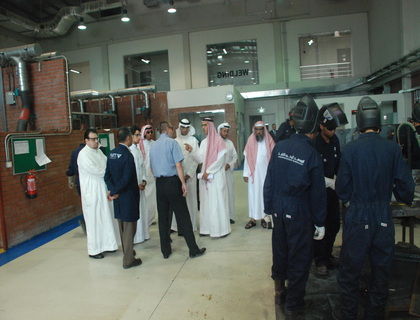 Visit from Mohammad bin Laden Company